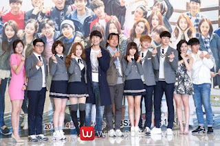 pemeran Who Are You School 2015