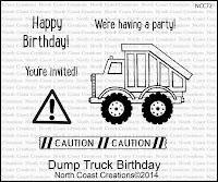 North Coast Creations Dump Truck Birthday