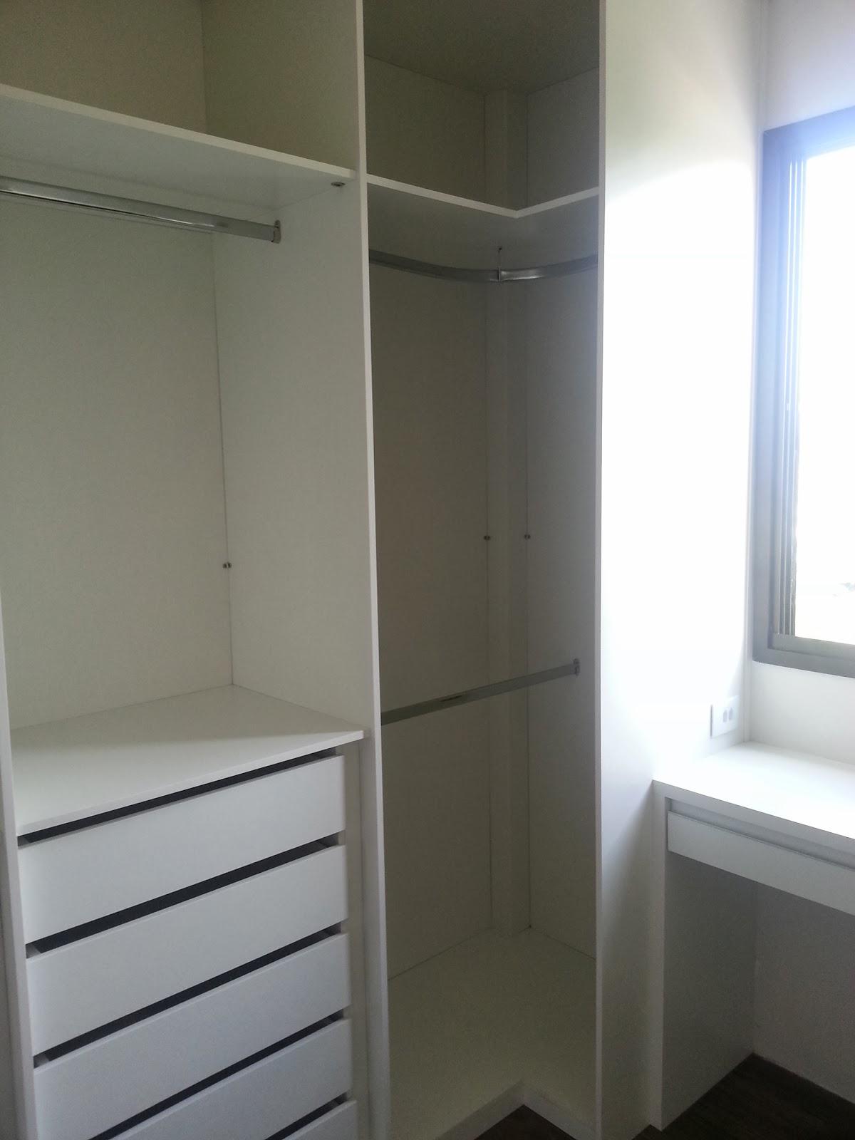 Sim senhora mãe!: Closet Pronto!!! #556176 1200x1600 Banheiro Com Janela Grande