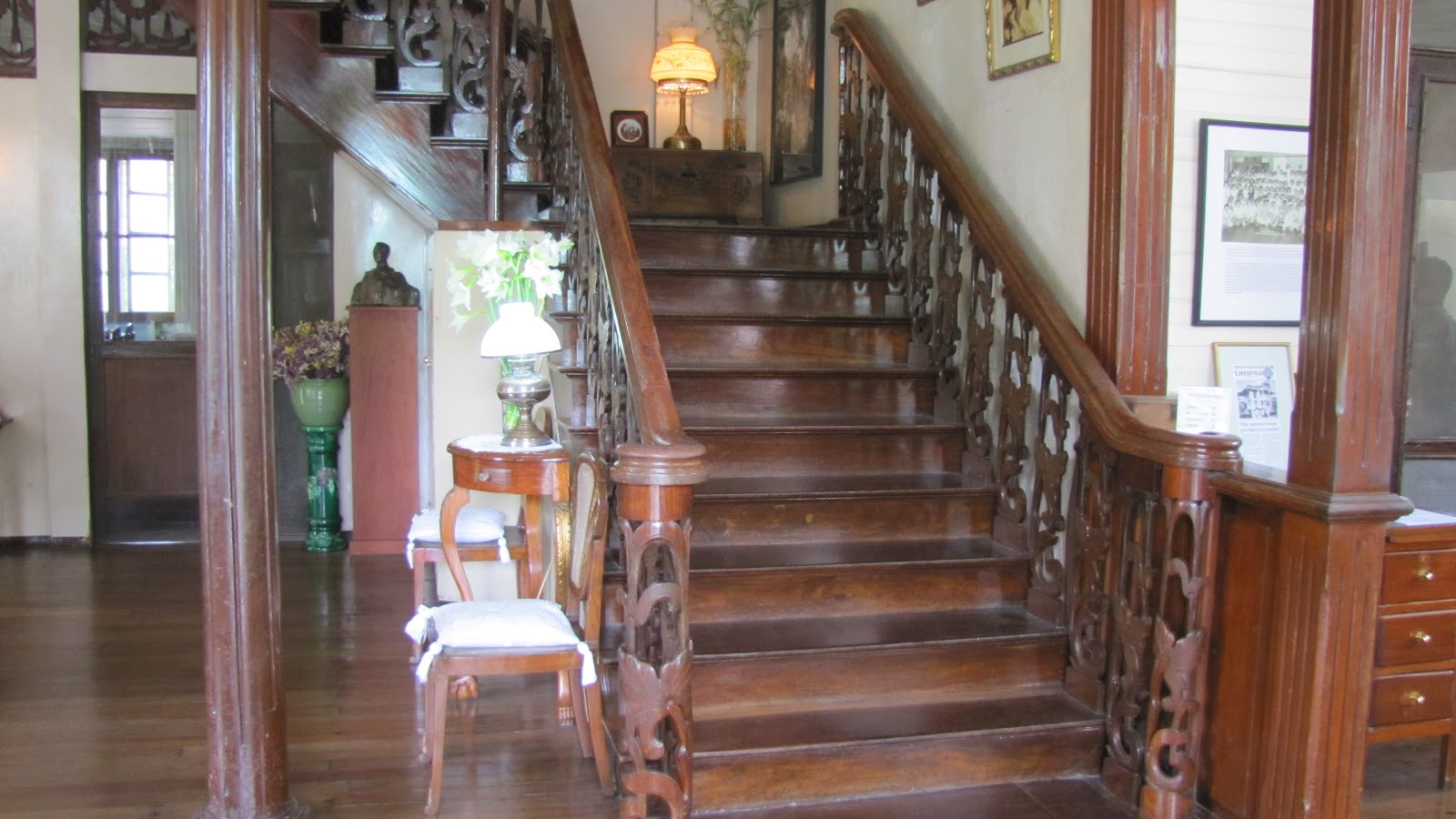 FTW! Blog, Hofileña Museum, Bacolod, #FTWtravels, Balayong Stairs