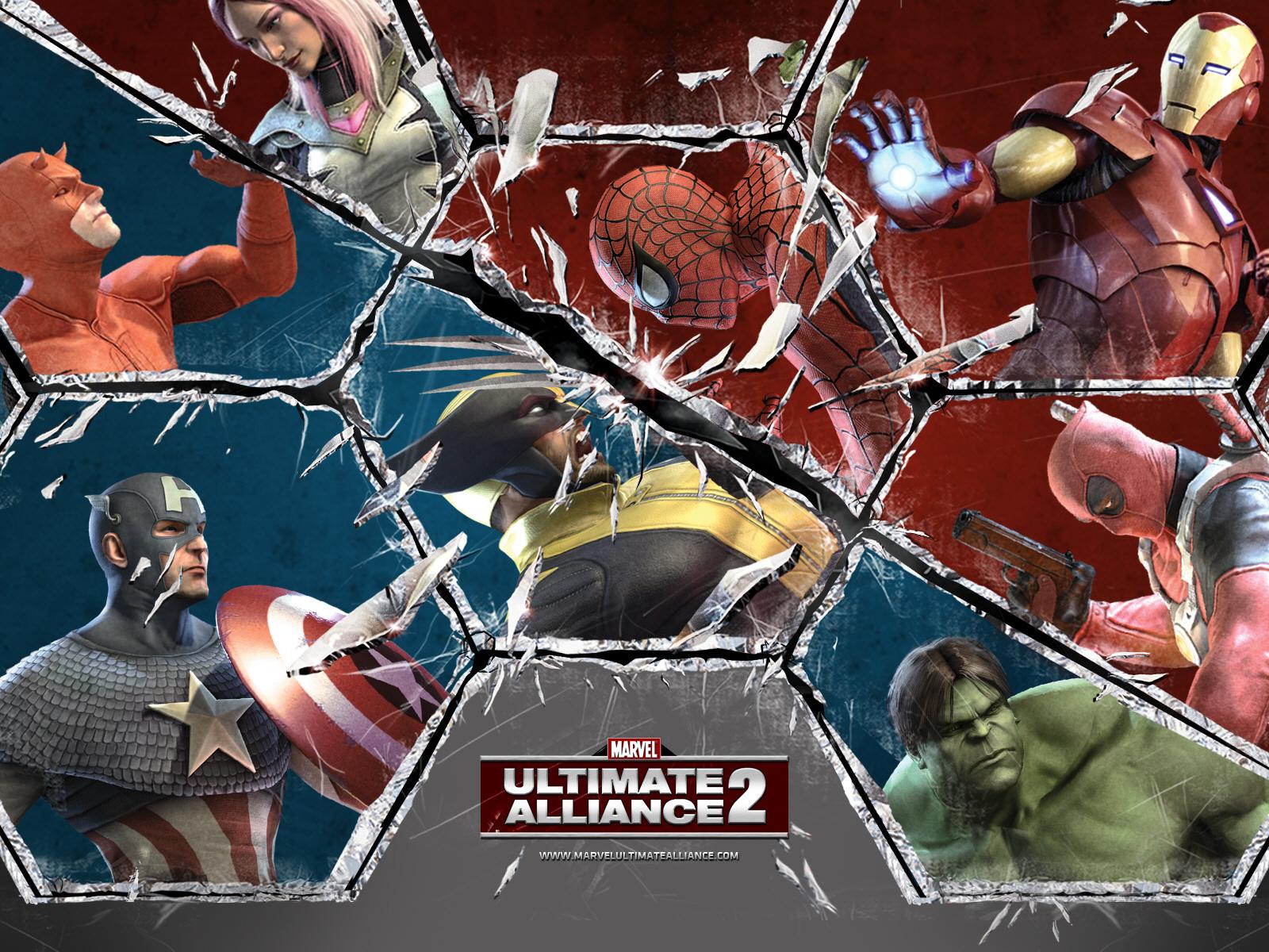 Marvel ultimate alliance 2 é um jogo videogames é a continuação