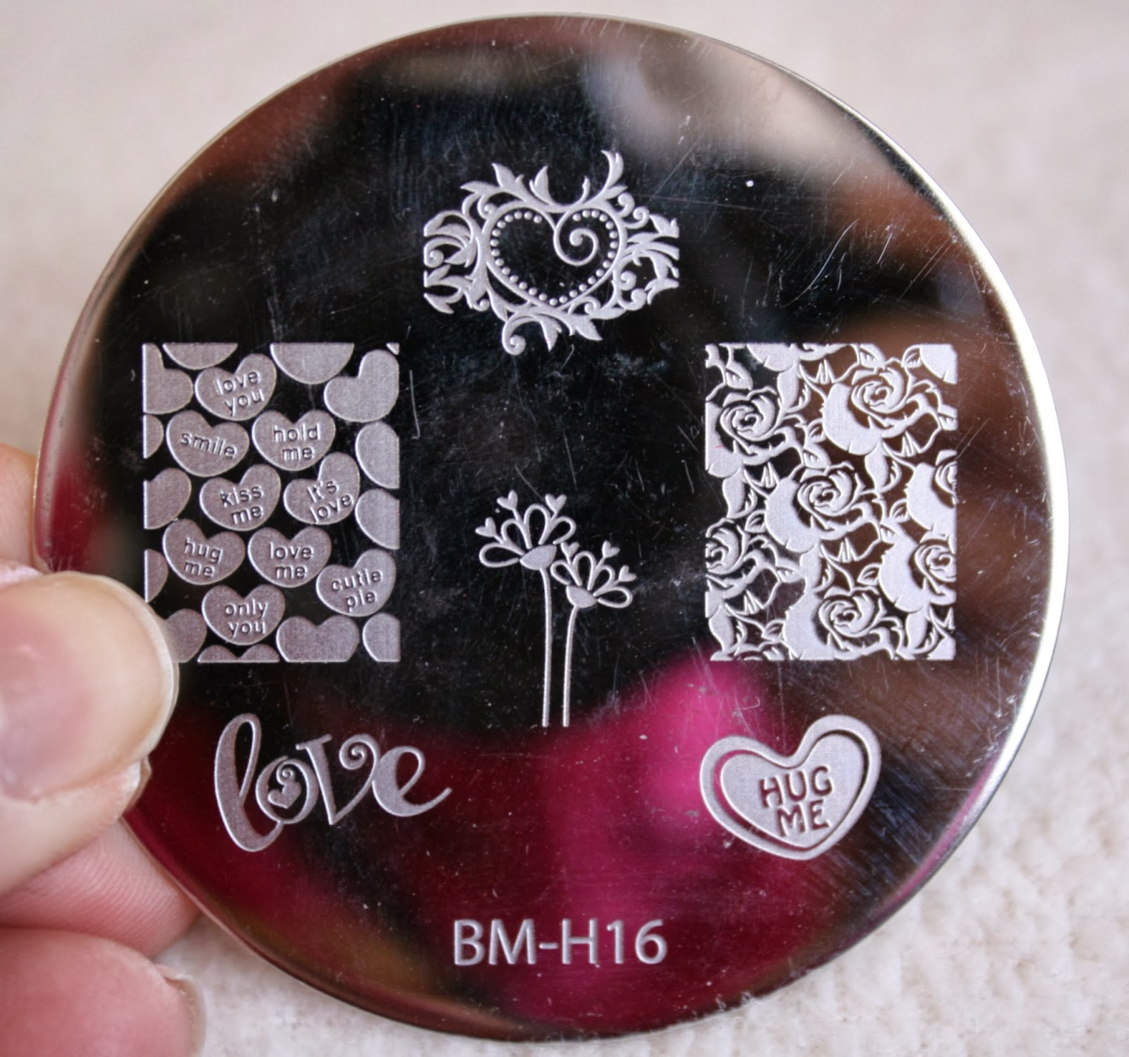 bundle monster nail stamping plates set collection holiday 2013 nails art stamp konad bm-h16