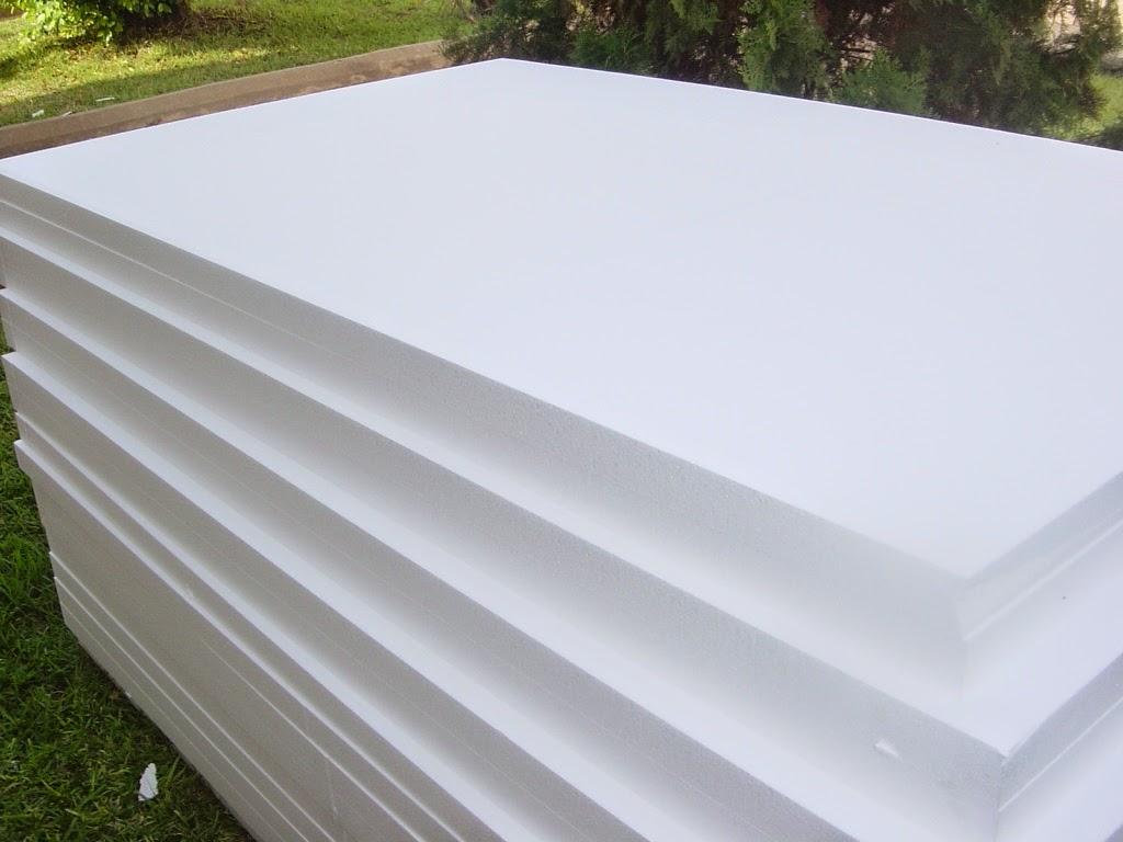 Bahan Dinding Styrofoam