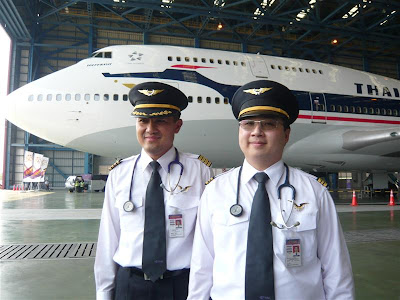 Thai Air Pilot