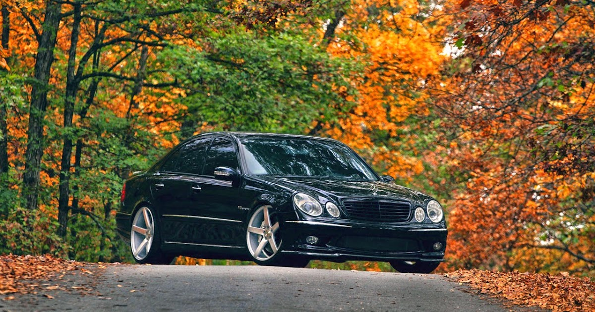 2006 mercedes benz e55 amg w211 on vossen wheels benztuning for Mercedes benz e55 amg