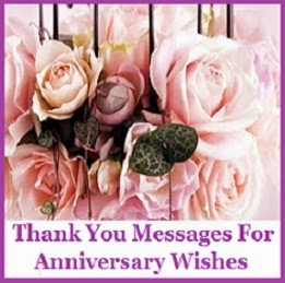 Thank You Messages Anniversary
