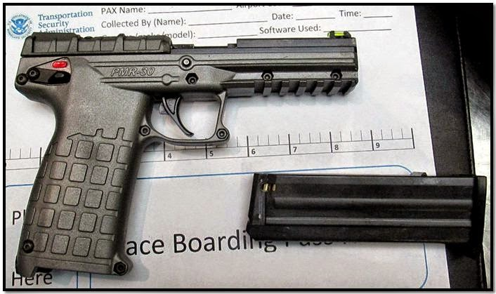 Loaded firearm discovered in a carry-on bag at GEG