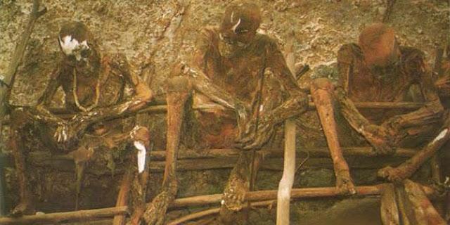 6 Kuburan 'Terbuka' Paling Menyeramkan di Dunia