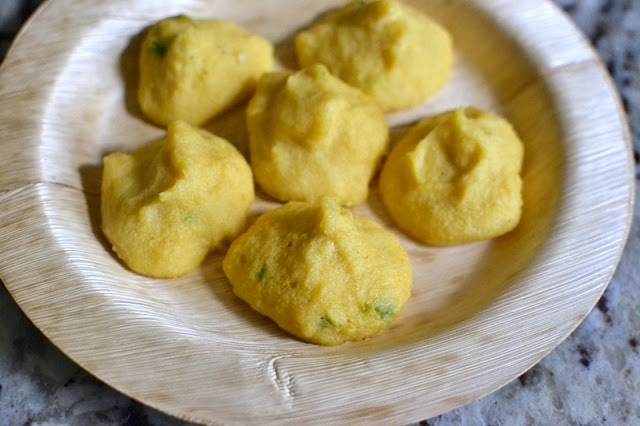 Moong dal Dumplings