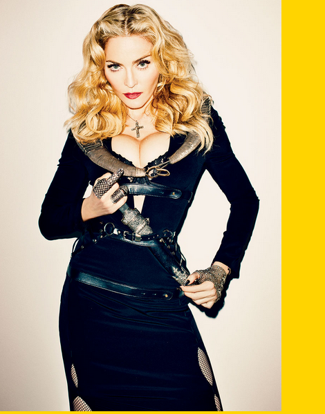Madonna by Terry Richardson for Harper's Bazaar 2013