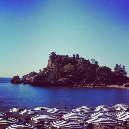 La spiaggia più bella di Taormina