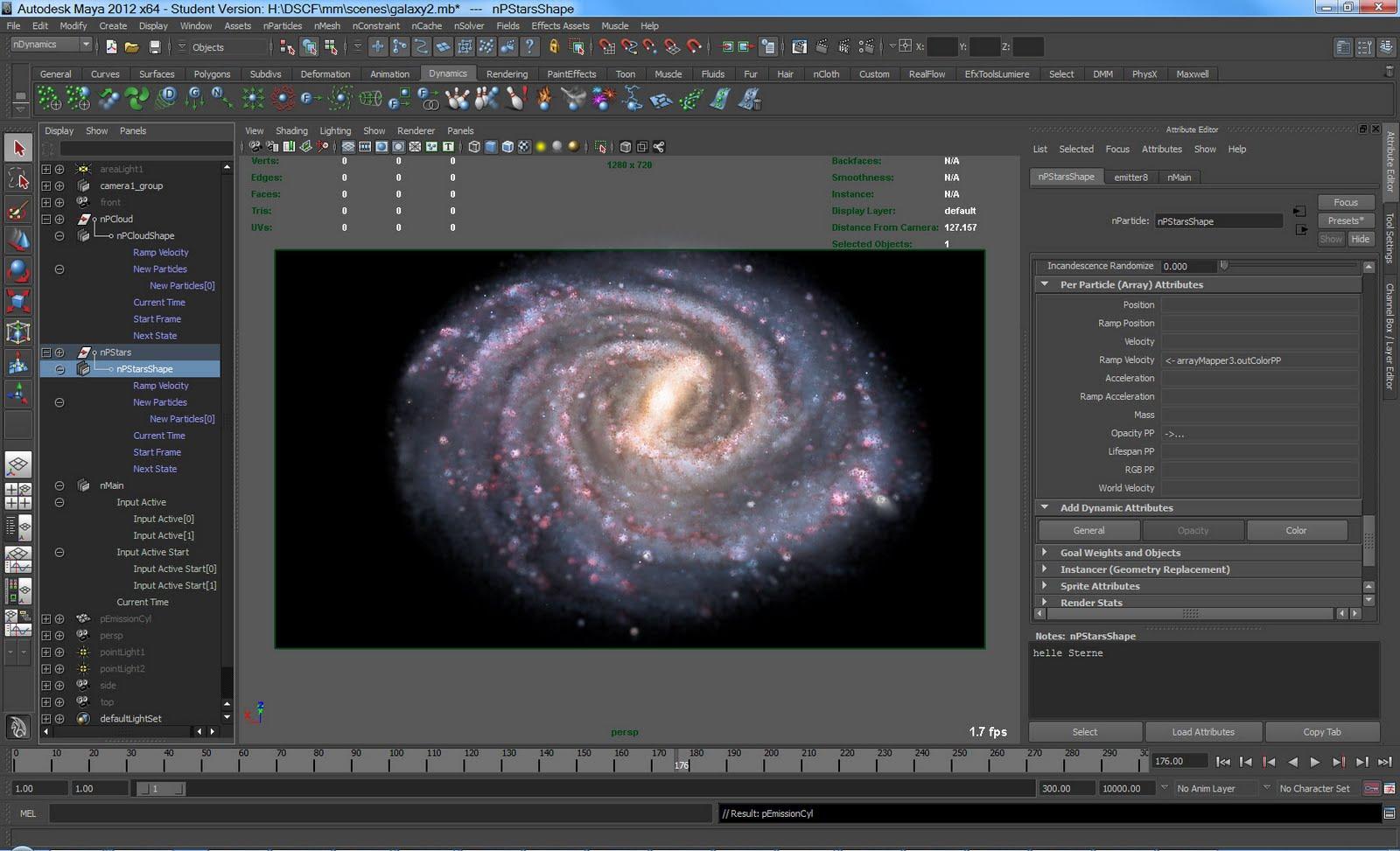 Blockwelt: Animation Galaxie V3