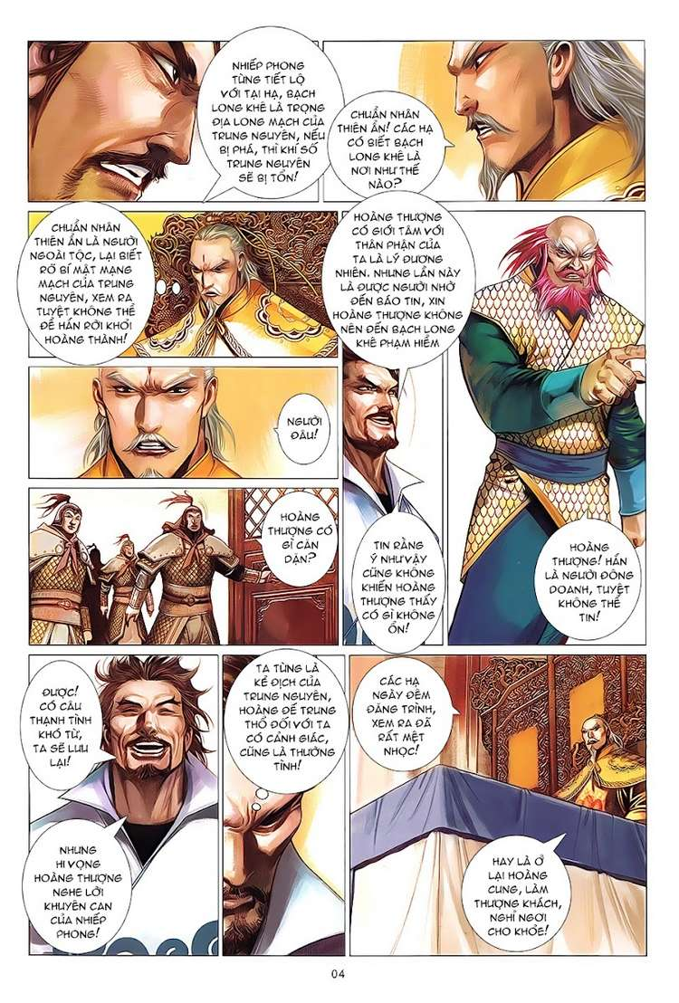 Phong Vân chap 622 Trang 4 - Mangak.info