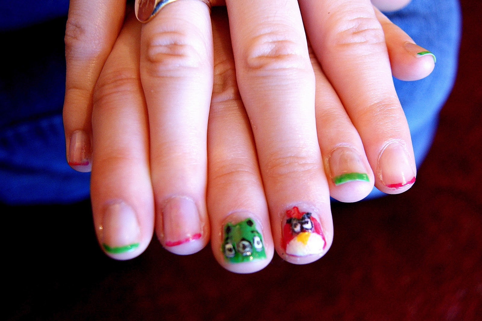 Unlimited by JK: Angry Birds nail art