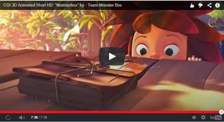 Monsterbox: Emotiva y tierna animación sobre la amistad.