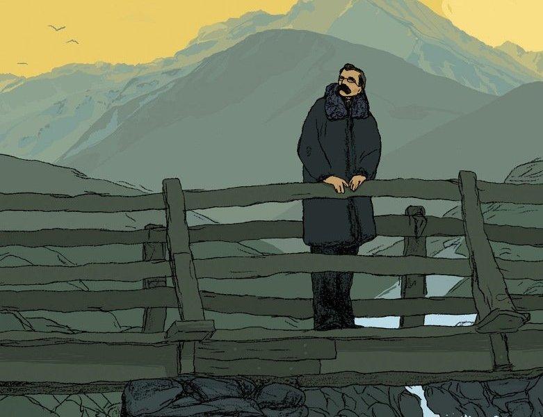 Friedrich Nietzsche por Maximilien Le Roy