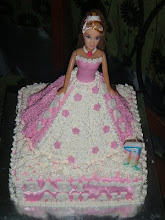 Barbie cake + Sponge base