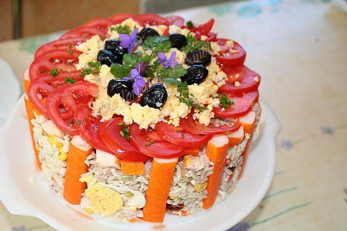 Cake Mais Thon