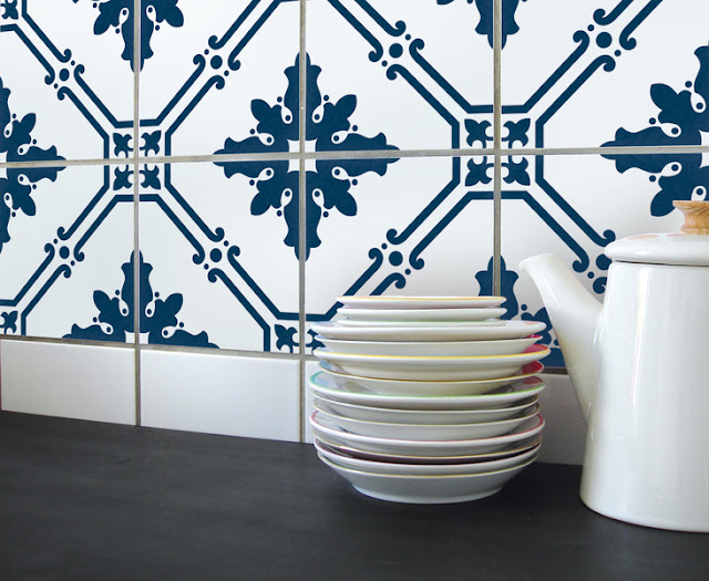 Boubouki tile stickers