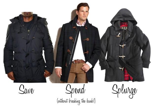 Images of Toggle Coat Mens - Reikian