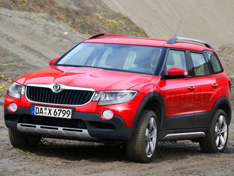 Skoda has always expressed interest in off-road scope. Not