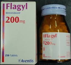 flagyl side effects back pain