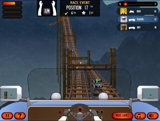 Sürat köprüsü oyunu oyna süper bi oyun - etapları geç araba yata motorsikletle yarış