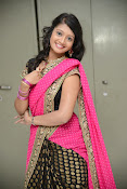 Sandeepthi Gorgeous in Designer Saree-thumbnail-4