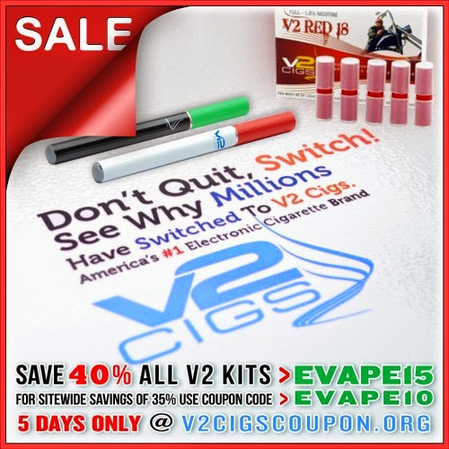 free discount coupons for v2 cigs