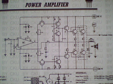 Rangkaian Power Amplifier 300 W