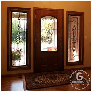 jendela dan pintu kaca patri jogja