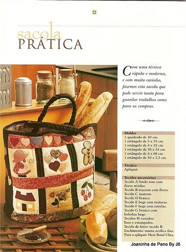 Bolsa de tecido em patchwork com PAP (DIY)