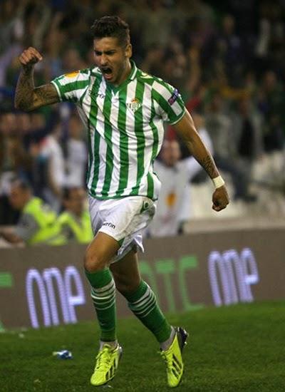 Alvaro Vadillo Real Betis Transfer Liverpool 20132014