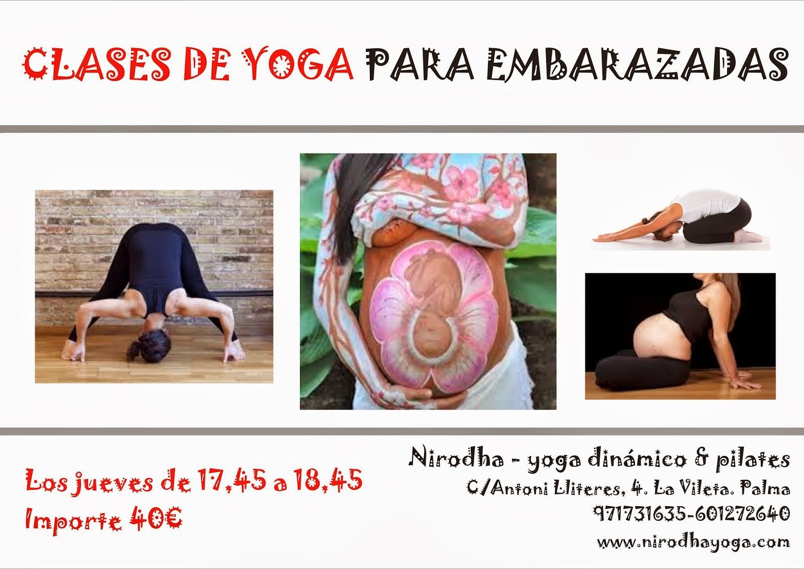 Nirodha yoga y pilates yoga para embarazadas inicio noviembre - Clases de yoga en casa ...