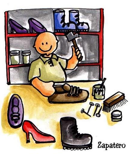 Imagenes profesion de zapatero imagenes y dibujos para for Fabricar zapatero