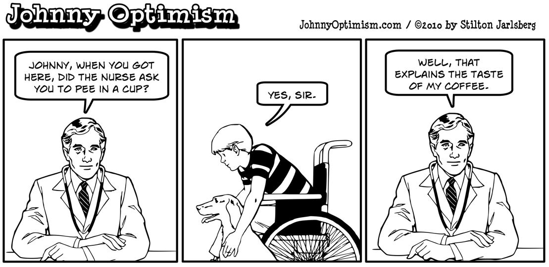 Johnnyoptimism, johnny optimism, medical humor, doctor