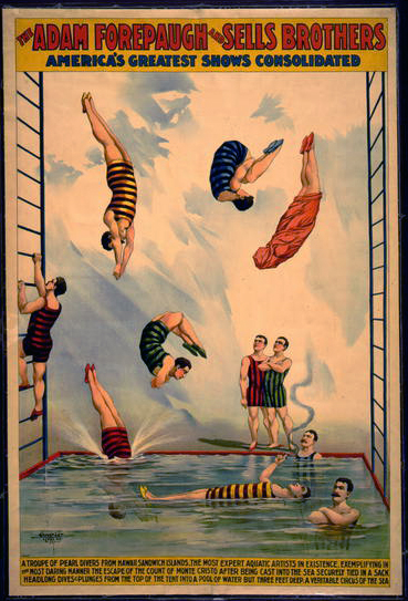 circus, classic posters, free download, graphic design, retro prints, vintage, vintage posters, The Adam Forepaugh & Sells Brothers, America's Greatest Shows Consolidated - Vintage Circus Poster