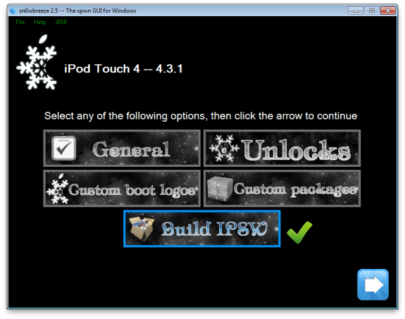 Sn0wbreez5 How To: Jailbreak iOS 4.3.1 Untethered Sn0wbreeze 2.5 [Windows]