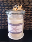 All natural candles with delicious scents........