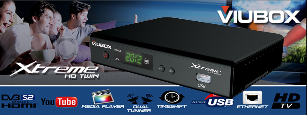ATUALIZAÇÃO VIUBOX XTREME HD TWIN - 22.07.2014 Viubox+estreme