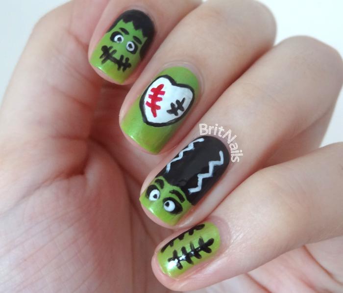 Frankenstein Nails Olivero