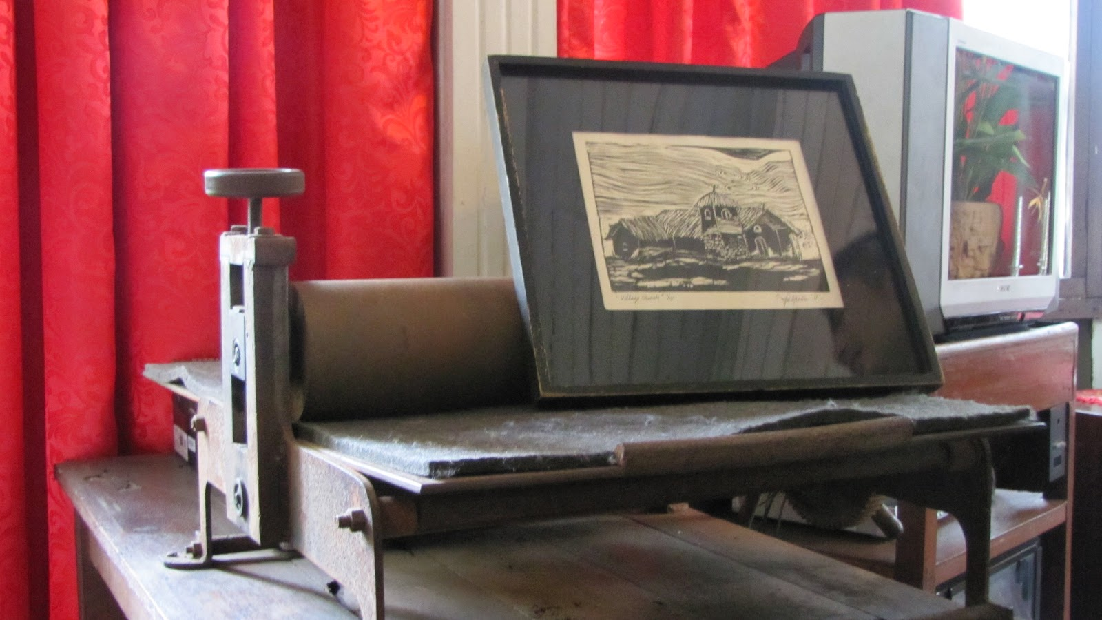 FTW! Blog, Hofileña Museum, Bacolod, #FTWtravels, Printing Press