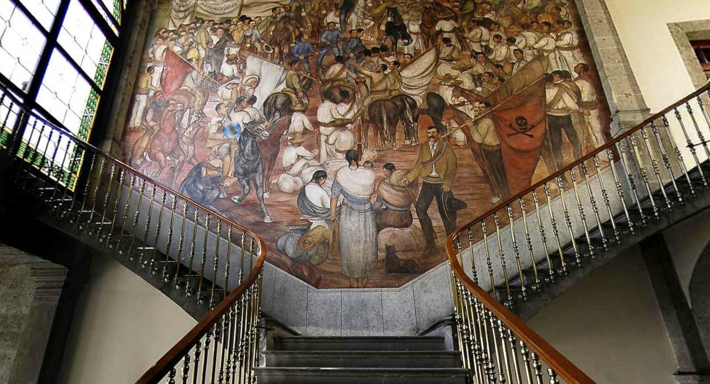 Sancarlosfortin Mural De La Revolucion Mexicana En