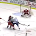 Derek Dorsett robbed of scoring chance by referee Tim Peel's interference (Video)