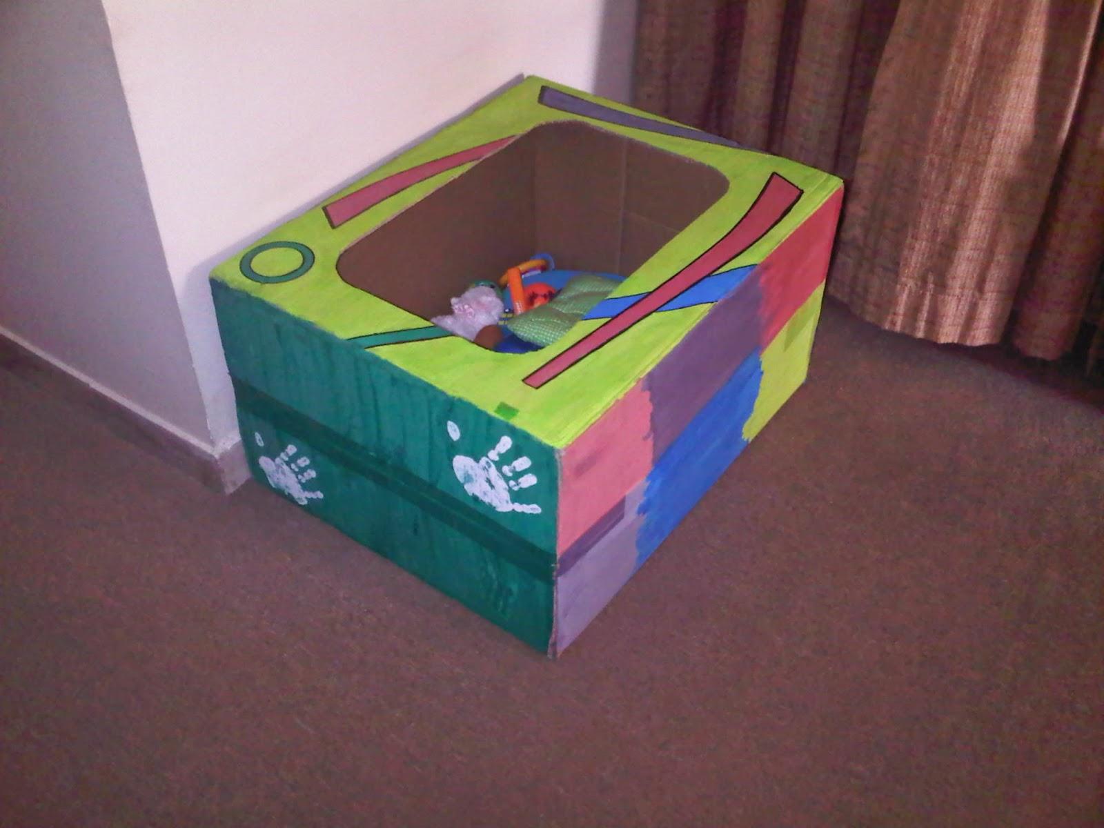 Diy Cardboard Toy Storage