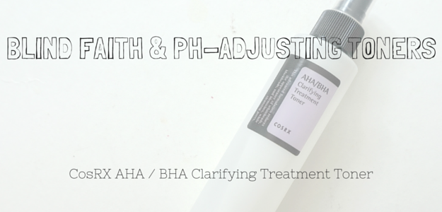 CosRX AHA/BHA Clarifying Treatment Toner Review, Ingredients, Results, pH test. Dry, aging skin. Korean skincare. Korean beauty products. Korean cosmetics.