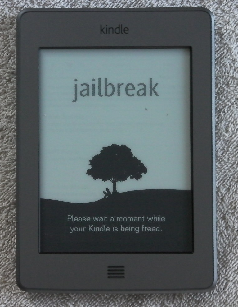 Kindle+touchjailbroken PS Vita Has Been Hacked