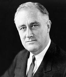 Photo of Franklin D. Roosevelt