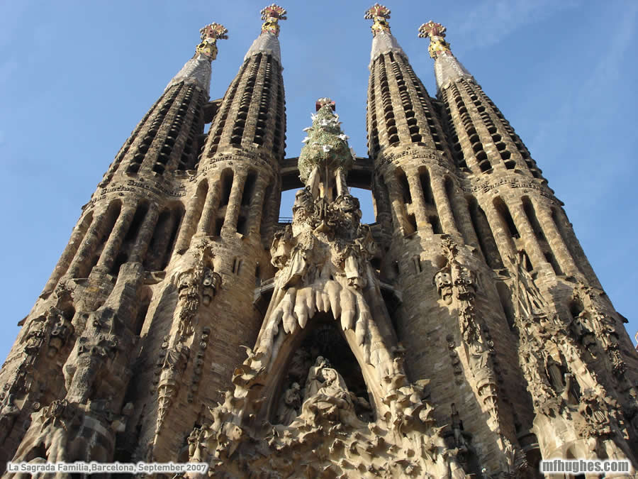 Sagrada Família  Exploration Exploration