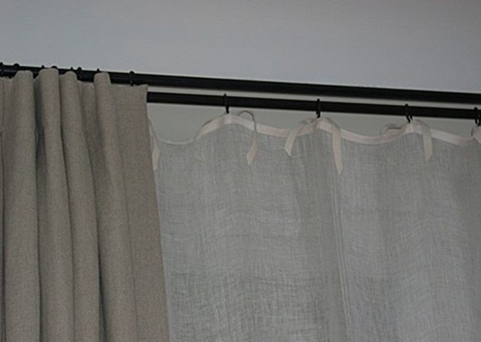 Envoyer par e mail blogthis partager sur twitter partager - Double rideaux en lin ...